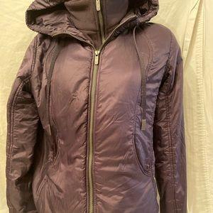 Lululemon purple winter jacket size M